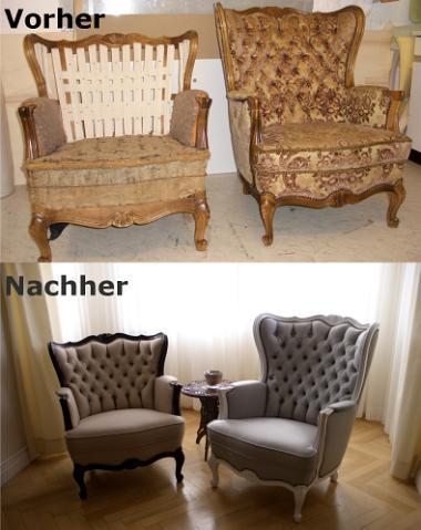 vorher nachher polster design udo weyrich wallhausen. Black Bedroom Furniture Sets. Home Design Ideas